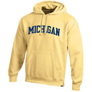 Gear University of Michigan Butter Yellow Basic Hooded Sweatshirt