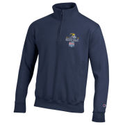 Champion University of Michigan Football Peach Bowl Navy 1/4 Zip Pullover Sweatshirt