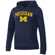 Gear University of Michigan Women's Navy Relaxed Hooded Sweatshirt