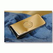 CSI Gold Michigan Money Clip
