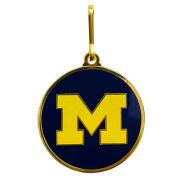 Jostens University of Michigan Block ''M'' Logo Commencement Gown Zipper Pull