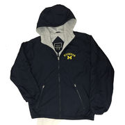 Holloway University of Michigan Navy Field Jacket