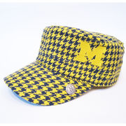 Honour Society University of Michigan Houndstooth Campus Cabbie Hat