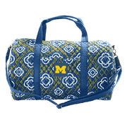 Honour Society University of Michigan Quilted Duffle Bag
