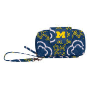 Honour Society University of Michigan Quilted Cell Phone Clutch