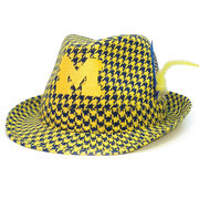 Honour Society University of Michigan Houndstooth Fedora