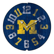 Imperial University of Michigan Vintage Round Wall Clock