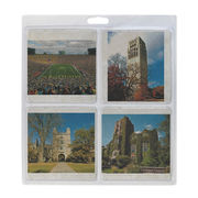 Jardine University of Michigan 4 Pack Campus Scenes Marble Coasters