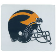 University of Michigan Football Helmet Mouse Pad