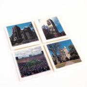 Jardine University of Michigan Campus Scenes Stone Coaster Set [Set of 4]