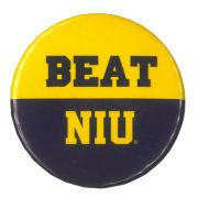 MCM University of Michigan Beat Northern Illinois Button