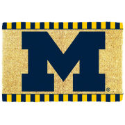 Jenkins University of Michigan Coir Door Mat