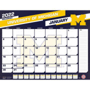 TF Publishing University of Michigan 2019 Desk Calendar