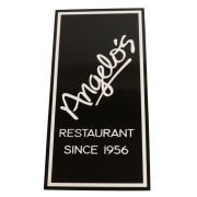 JMB Signs Angelo's Restaurant Ann Arbor Sign
