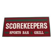 JMB Signs Scorekeepers Sports Bar & Grill Ann Arbor Sign