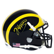 University of Michigan Football Jabrill Peppers Autographed Mini Helmet