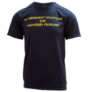 NineseveN ''No Permanent Solutions For Temporary Problems'' Mental Health Awareness Tee