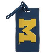 JWI University of Michigan Navy Luggage Tag
