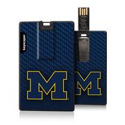 Keyscaper University of Michigan 8GB Credit Card Style USB Flash Drive
