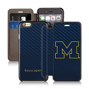 Keyscaper University of Michigan iPhone 6/6s Wallet Case