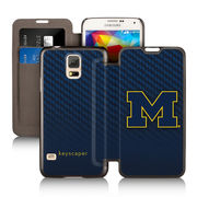 Keyscaper University of Michigan Samsung Galaxy S5 Wallet Case