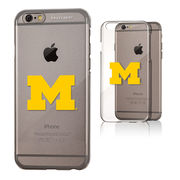 Keyscaper University of Michigan Apple iPhone 6/6s Slim Series Clear Case