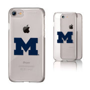 Keyscaper University of Michigan Apple iPhone 7 and iPhone 8 Clear Slim Case