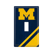 Keyscaper University of Michigan Single Toggle Light Switch Plate Cover