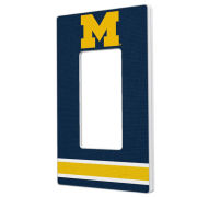 Keyscaper University of Michigan Single Rocker Light Switch Plate Cover