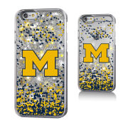 Keyscaper University of Michigan Apple iPhone 6/6s Glitter Series Case