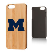 Keyscaper University of Michigan Apple iPhone 6/ 6S Bamboo Wood Series Case