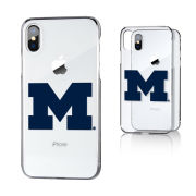 Keyscaper University of Michigan Apple iPhone X and iPhone XS Clear Slim Case