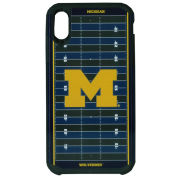 Keyscaper University of Michigan Football Apple iPhone XS Max Rugged Series Case