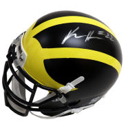 University of Michigan Football Karan Higdon Autographed Mini Helmet