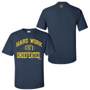 Kurt Taylor Sr. ''Hard Work Is Undefeated'' Navy Tee