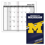 Turner University of Michigan 2021 17-Month Pocket Planner