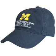 Legacy University of Michigan Ford School of Public Policy Navy Hat