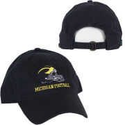 Legacy University of Michigan Football Helmet Navy Slouch Hat