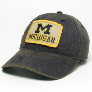 Legacy University of Michigan Washed Navy ''Old Favorite'' Patch Logo Hat