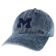 Legacy University of Michigan Stone Washed Denim Block ''M'' Hat