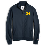 League Outfitters University of Michigan Navy Manchester Full Zip Track Jacket