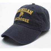 Legacy University of Michigan Lacrosse Navy Slouch Hat