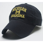 Legacy University of Michigan Grandma Navy Slouch Hat