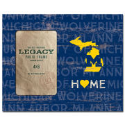 Legacy University of Michigan ''HOME'' 4x6 Picture Frame