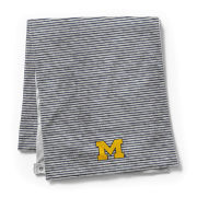 League Collegiate Outfitters University of Michigan Gray Essential Scarf