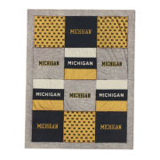 League Collegiate Outfitters University of Michigan Spirit Quilted Blanket