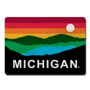 Legacy University of Michigan Sunset Wood Refrigerator Magnet