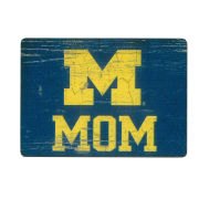 Legacy University of Michigan Mom Block ''M'' Refrigerator Magnet