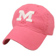 Legacy University of Michigan Youth Pink Slouch Hat