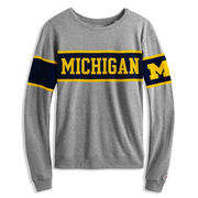 League Outfitters University of Michigan Women's Long Sleeve Intramural Tee